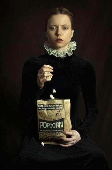 Palomitas-de-maíz-de-su-serie-¿Y-cómo-habría-sido-Romina-Ressia
