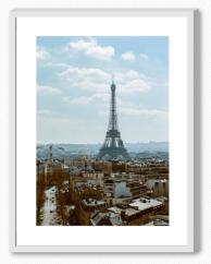 Eiffel blanco