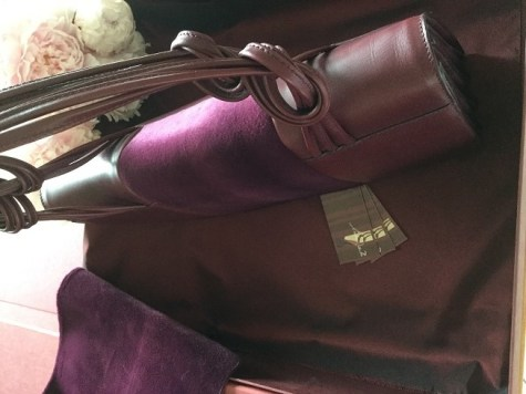 Grand Attaché Bag 'Dahlia' by AJ