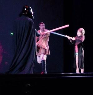 Amelia Jedi Training