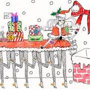 Santa-pede