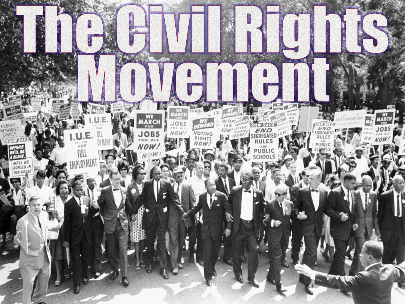The New Civil Rights Movement A New Generation Begins The