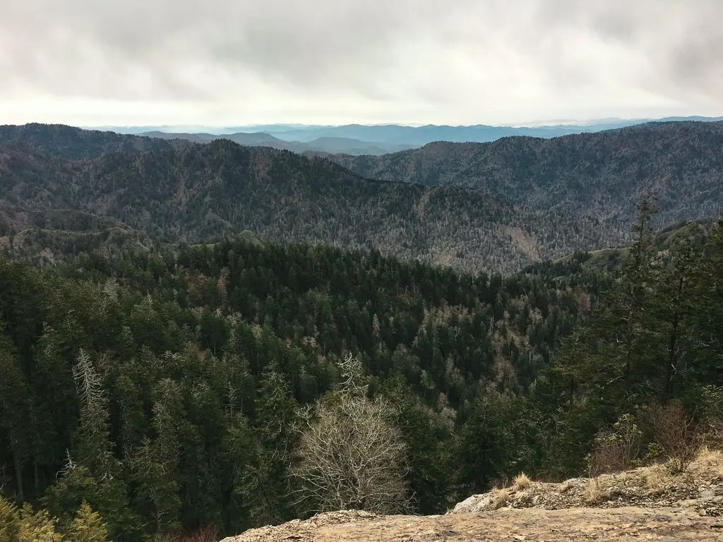 cliff tops viewpoint mt leconte