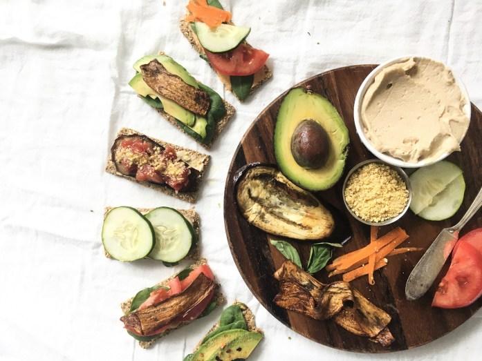 low carb vegan snack idea
