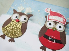Santa & Elves Owls (3)