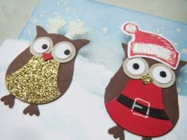 Santa & Elves Owls (3)