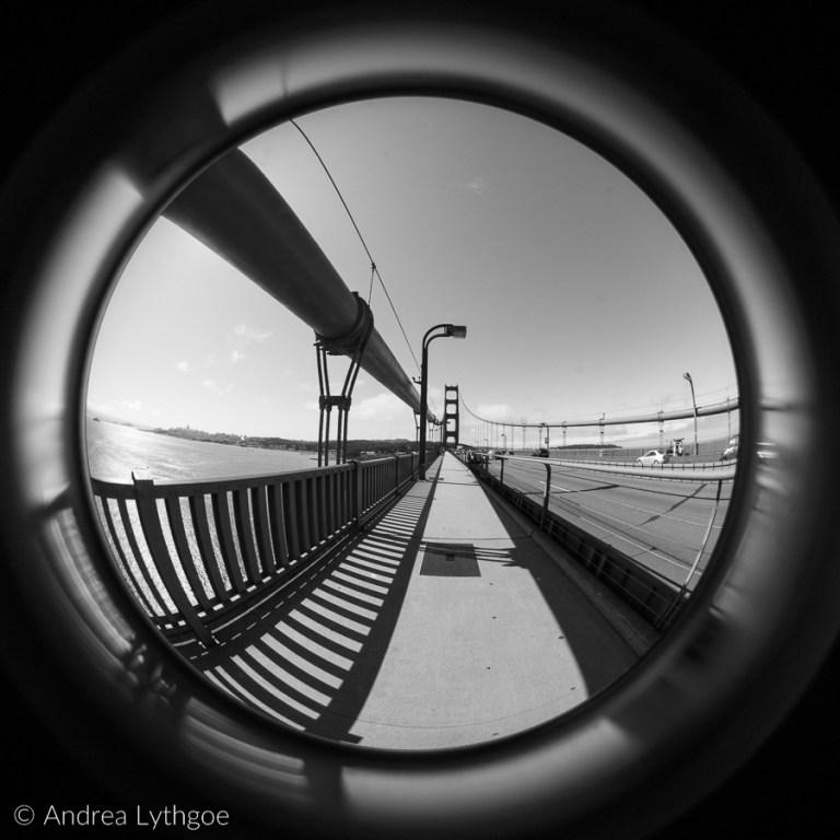 Golden Gate Bridge CFE monochrome-1