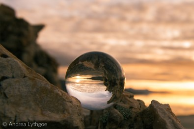 Lens ball at Great Salt Lake-2