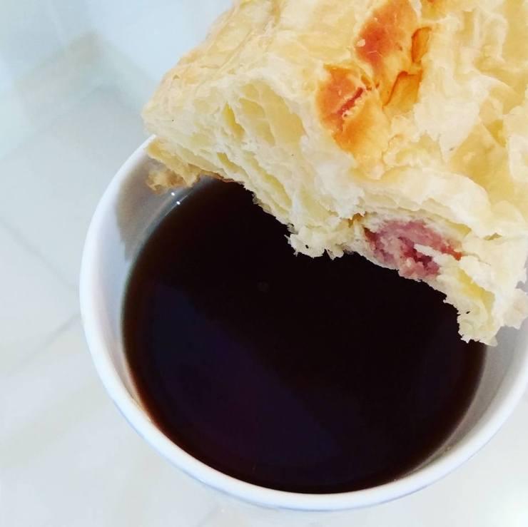 Pentingnya sarapan! Sarapan roti di pagi hari!