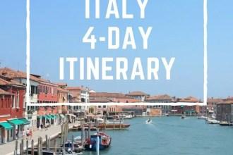 Venice, Italy: 4-Day Itinerary | www.andreapeacock.com