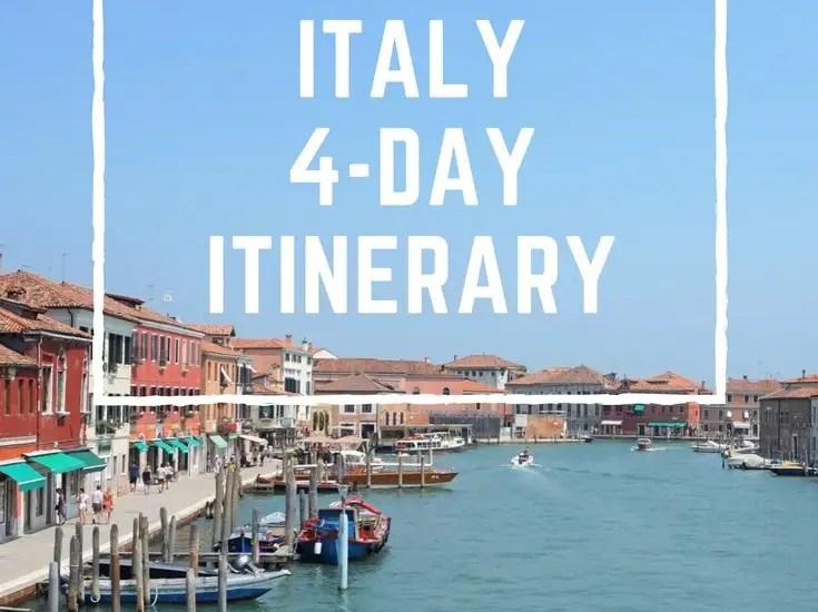 Venice, Italy: 4-Day Itinerary   www.andreapeacock.com