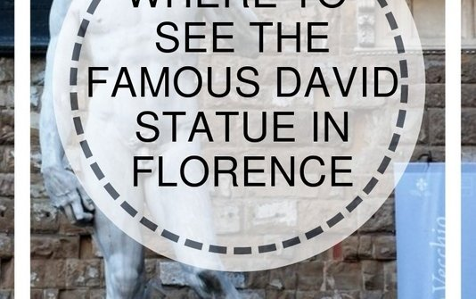 Where to see the Michelangelo David statue in Florence, Italy | www.andreapeacock.com