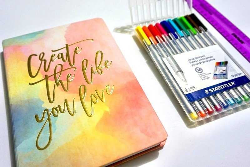 How to track goals and habits with a bullet journal   www.andreapeacock.com