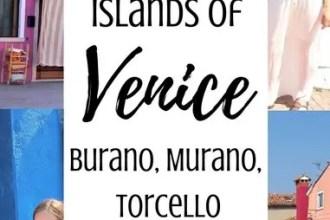 Visiting the islands of Venice, Italy: Burano, Murano, Torcello | www.andreapeacock.com