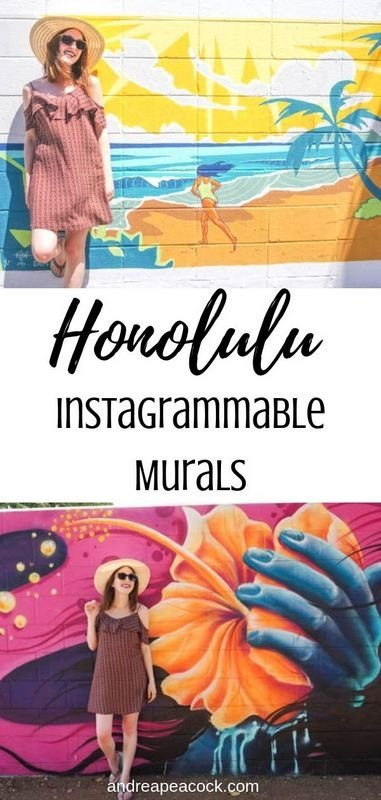 Instagrammable Murals in Honolulu, Hawaii