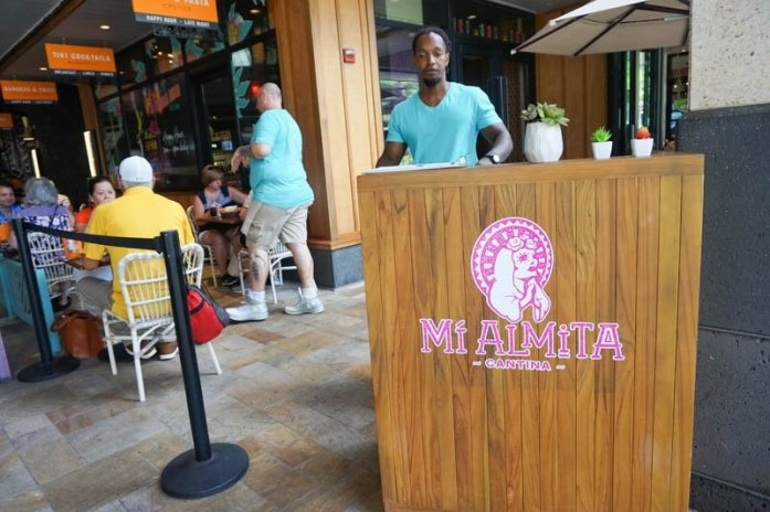Mi Almita Cantina taco restaurant in Hawaii