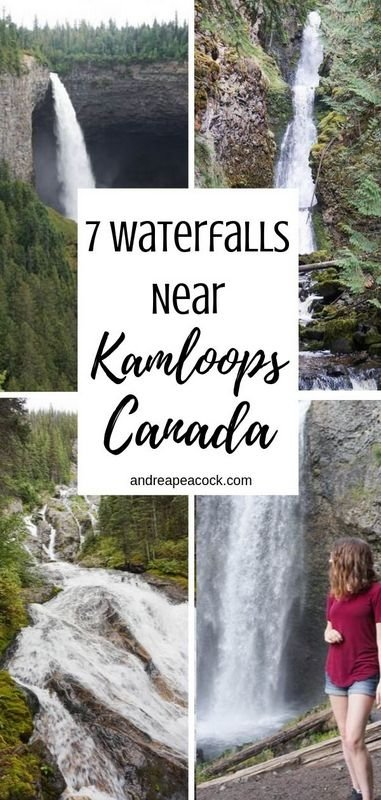 7 Waterfalls to Discover Near Kamloops, British Columbia | British Columbia Hiking Guide | Canada Hiking Guide | British Columbia Waterfalls