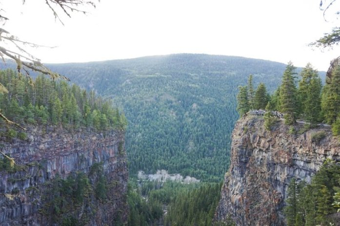 Kamloops, British Columbia Waterfall Guide | Spahats Falls | Kamloops Hiking Guide | British Columbia Hiking Guide | Canada Hiking Travel Guide