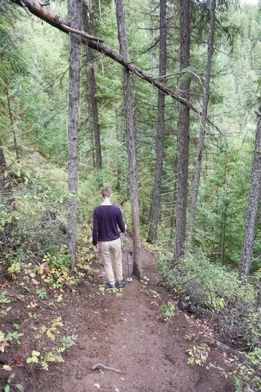 Kamloops, British Columbia Waterfall Guide | Triple Decker Falls | Kamloops Hiking Guide | British Columbia Hiking Guide | Canada Hiking Travel Guide