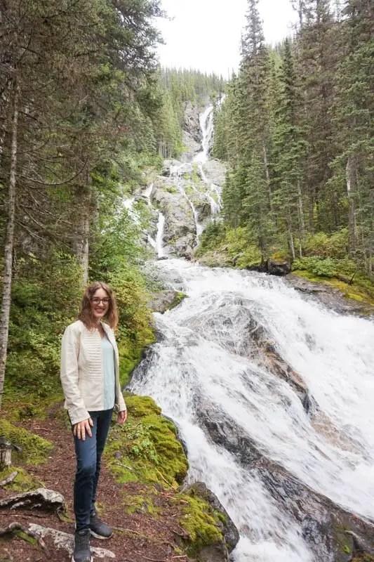 Kamloops, British Columbia Waterfall Guide | Silvertip Falls| Kamloops Hiking Guide | British Columbia Hiking Guide | Canada Hiking Travel Guide