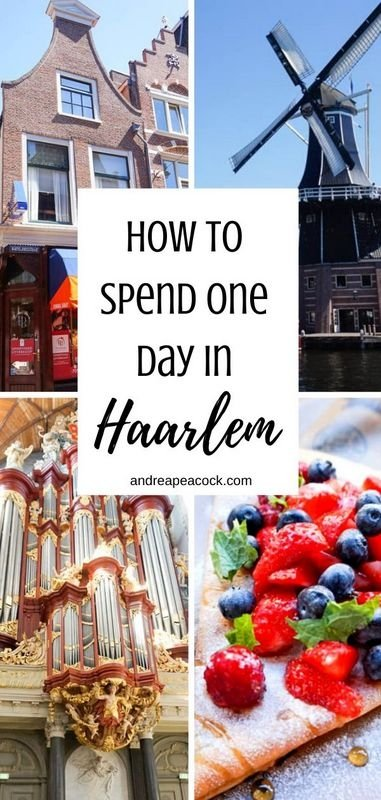 How to spend one day in Haarlem, Netherlands, including a visit to the Corrie ten Boom Museum and the St. Bavo Church. Exploring Haarlem, Netherlands is the perfect day trip from Amsterdam | Haarlem, Netherlands travel guide #netherlandstravel #europetravelguide #europetraveltips