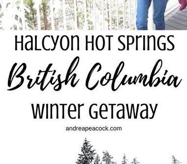 Halcyon Hot Springs is the perfect winter getaway in the Kootenay region of British Columbia, Canada.
