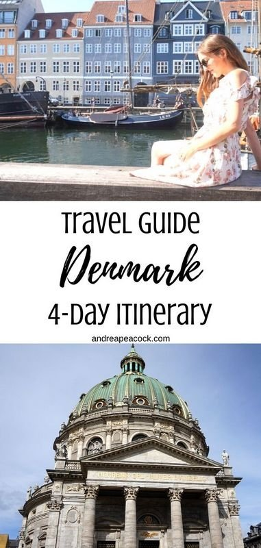How to spend 4 days in Denmark, a beautiful Scandinavian country in Europe. Four days in Denmark includes two days in Copenhagen, one day visiting Hamlet's Castle in Helsingor (Kronborg Castle) and even a day in Malmo, Sweden! Check out this Denmark travel guide for all the info.