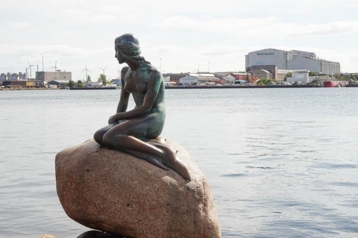The Little Mermaid is a popular monument in Copenhagen, Denmark and is a must-visit as part of a two-day Copenhagen itinerary.