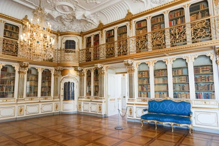 Christiansborg Palace is a gorgeous palace in Copenhagen, Denmark, that is well worth a visit.