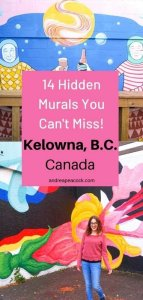 14 Hidden Murals You Can't Miss in Kelowna, British Columbia