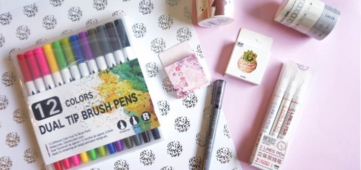 Bullet Journal Supplies Stationery Haul
