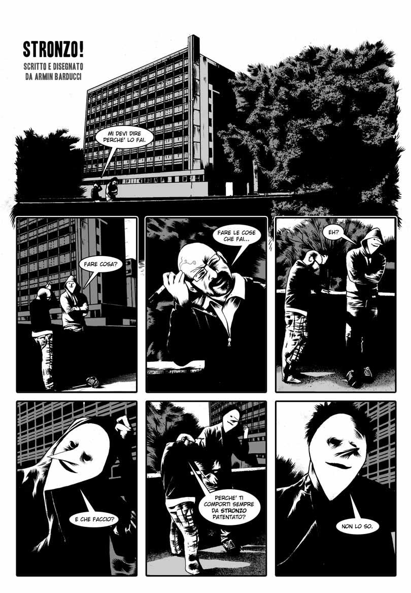 STRONZO! di Armin Barducci p. 1