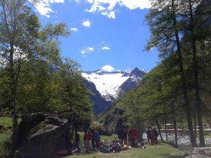 Bouldering in Val di Mello