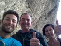 Hannes,Barbara and I