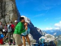 Eddie Letizia forcella Val d'Arcia