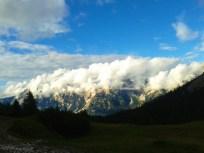 Nuvole su Antelao e Sorapiss