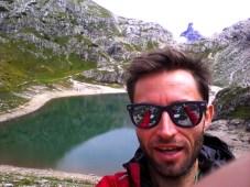 Selfie al laghetto Coldai