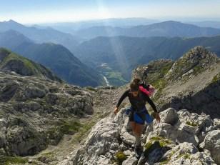 Salendo al Monte Slebe