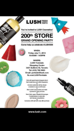 200th Store Grand Opening Party