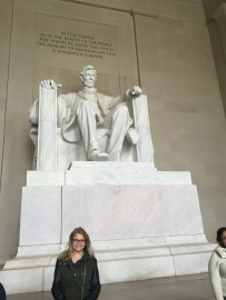 Lincoln and I!
