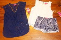 Navy Blue Lilly Pieces