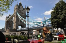 Tower Bridge! One of my favorite spots - very beautiful! Awesome area to grab a pint!