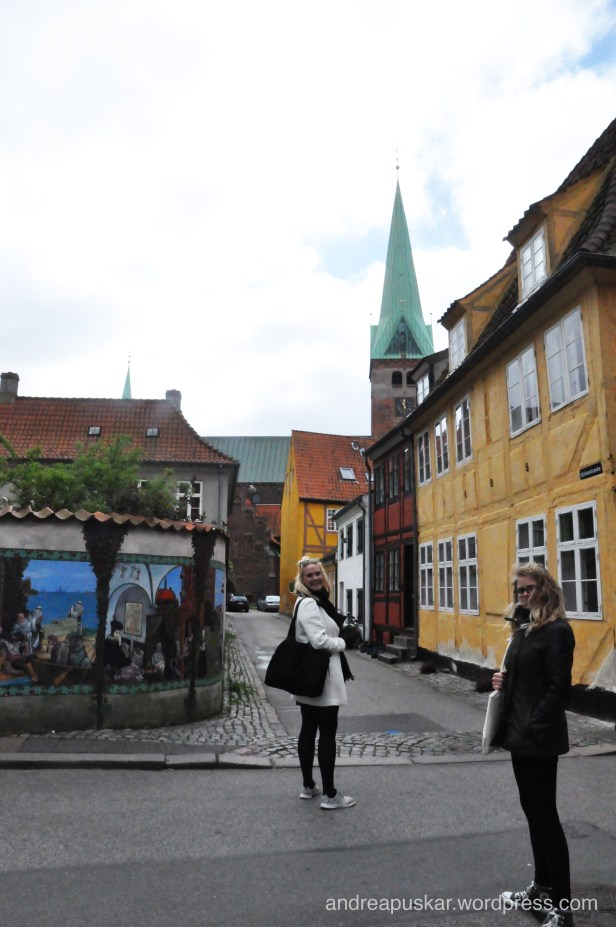 The streets of a small Danish town!