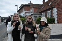 The ice cream was incredible in Denmark! Fresh, homemade waffle cones.
