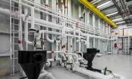 Helix 2 Tubes innen Rohre technische Einrichtung