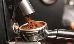 Kaffee frisch gemahlen