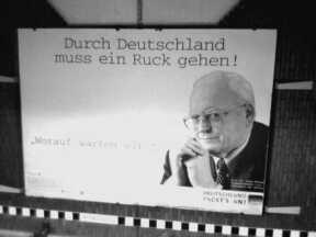 Ex-Ex-Bundespräsident Herzog ruckt noch immer
