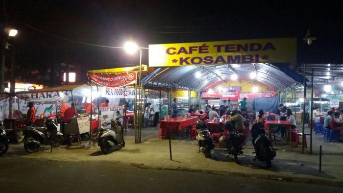 kafe cafe tenda kosambi