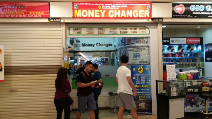 DJ Money Changer Tang City Kota Tangerang