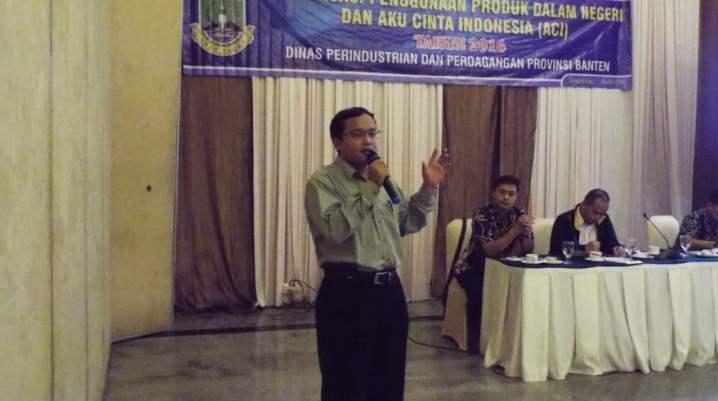 Pembicara Online Marketing Deperindag Banten di Tangerang